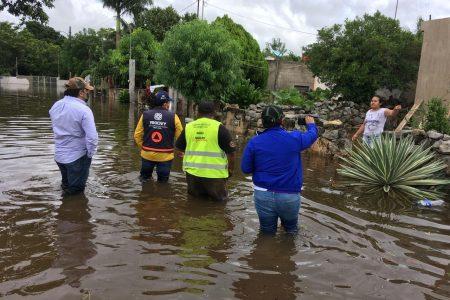 Gobierno del Estado brinda apoyo inmediato a comunidades afectadas por intensas lluvias en Motul