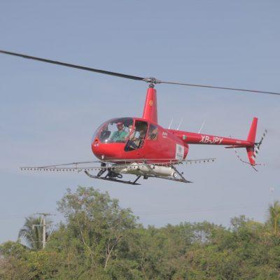 Comienza la fumigación aérea en zonas afectadas por inundaciones de Gamma y Delta