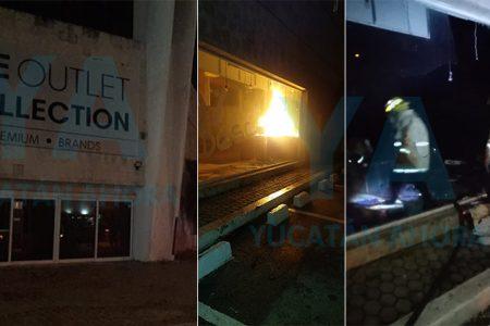 Se incendia la tienda The Oulet Collection, en Zona Dorada