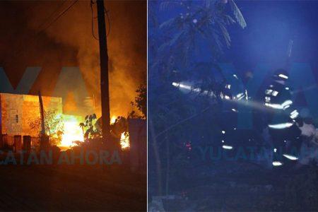Por una veladora, se incendia su casa con varias pertenencias