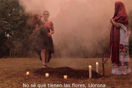 La Llorona, por primera vez interpretada en maya