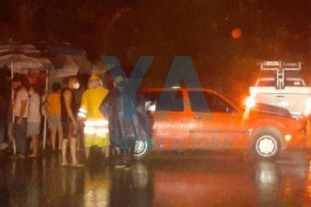 Les restablecen la luz en San Antonio Cinta, tras retener una camioneta de CFE