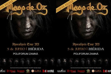 Mägo de Oz regresa a Mérida en junio de 2021 con su  'Apocalipsis Tour'
