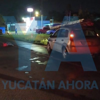 Trágico accidente en la carretera Mérida-Tixkokob