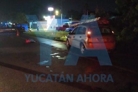 Trágico accidente en la carretera Mérida-Tixkokob