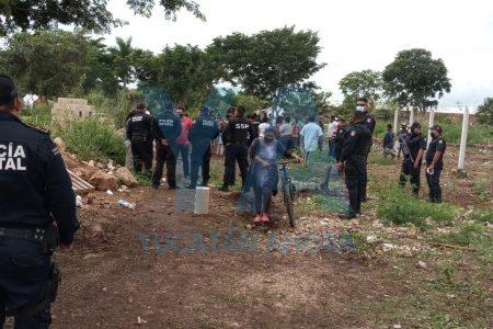 Tensión en Roble Alborada: destruyen casas y desalojan a invasores