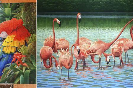 Conoce el trabajo de David Mex, un destacado pintor yucateco