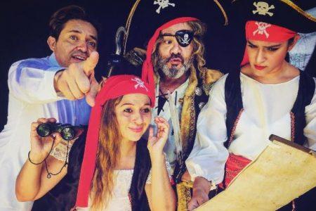 Piratas van tras los tesoros del Hanal Pixán