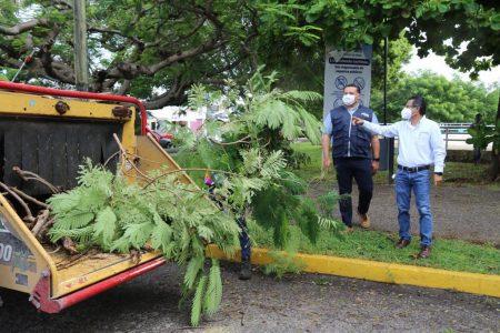 El Ayuntamiento refuerza acciones para evitar inundaciones por ciclones