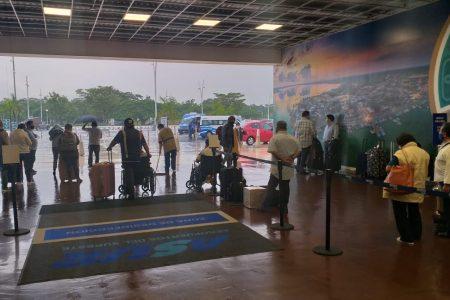 El aeropuerto de Mérida funciona al 100%, pero se han cancelado siete vuelos