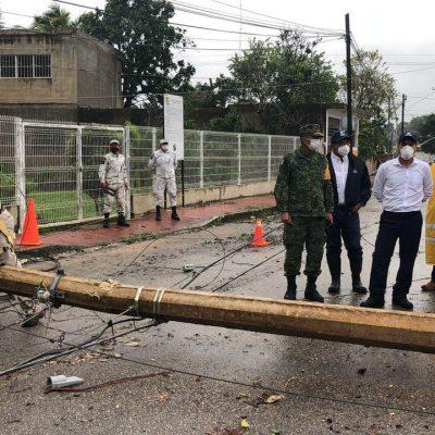 Paulatino retorno a las actividades en Yucatán tras el huracán Delta