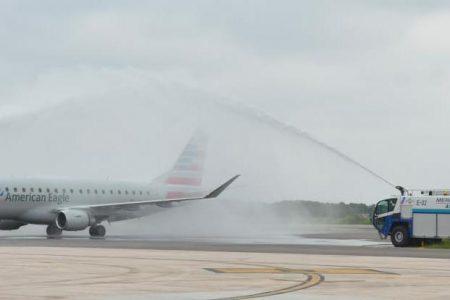 Yucatán da la bienvenida nuevamente al vuelo Miami- Mérida