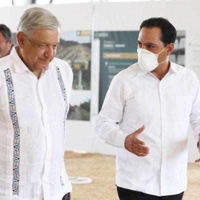 Mauricio Vila pide a AMLO apoyo para los yucatecos afectados por ciclones