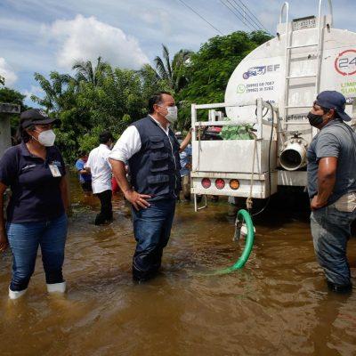 Ayuntamiento y Cruz Roja se unen para atender a comisarías afectadas por inundaciones