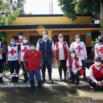 Activan dos centros de acopio de ayuda a familias afectadas por inundaciones