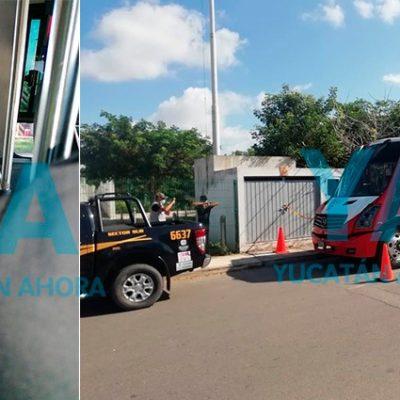 Fallece pasajero en un autobús del transporte público de Mérida
