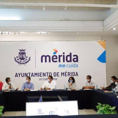 Buscan solución integral para las inundaciones en Mérida