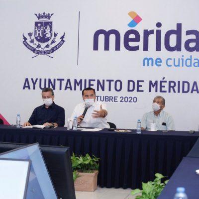 Renán Barrera abre mesa de análisis para buscar solución a las inundaciones en Mérida