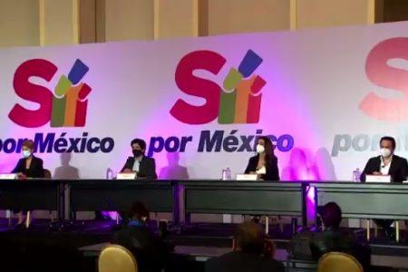 """Presentan movimiento """"Sí por México"""", integrado por 400 asociaciones"""