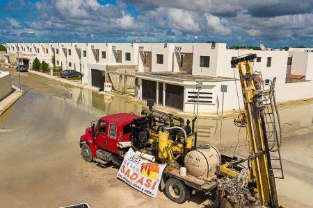 Operativo Sadasi en Acción ya realizó 1,500 viajes de pipa para desalojar agua en Las Américas