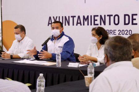 Anuncia Renán Barrera un programa de atención integral a Las Américas
