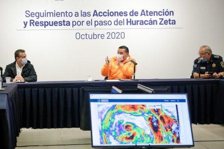 Mérida respira: fue leve el paso de Zeta, incluso con lluvia de poca intensidad