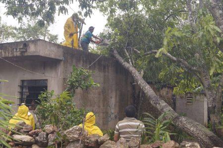 Espita: sin luz, pero con daños menores por el huracán Zeta