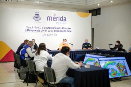 Tormenta Zeta pasa sin dejar inundaciones en Mérida y sus zonas vulnerables