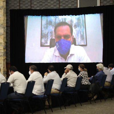 Mauricio Vila encabezó de manera virtual sesión del Consejo de Protección Civil