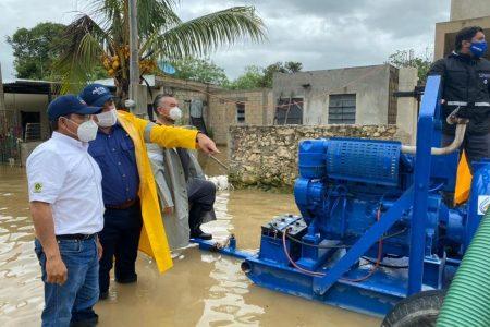 Atención inmediata del Ayuntamiento por lluvias del frente frío 9