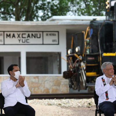 AMLO inicia mañana visita de dos días en Yucatán para supervisar obras del Tren Maya