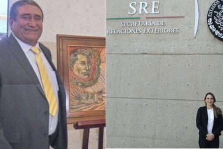 Dos motuleños en las delegaciones de la SRE en Campeche y Yucatán