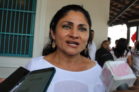 Soy testigo del gran trabajo de Mauricio Vila para sacar a Yucatán adelante: Carmen Ordaz Martínez