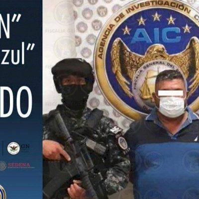 Cae 'El Azul', sucesor de 'El Marro' al frente del Cártel Santa Rosa de Lima