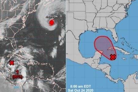Este fin de semana, nueva depresión tropical en el Caribe: lluvia para Yucatán