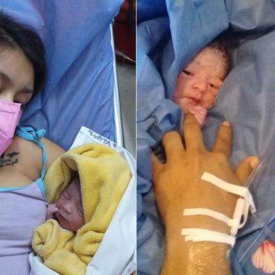 Con prisa por venir en el 2020, nacen dos niños en carreteras yucatecas