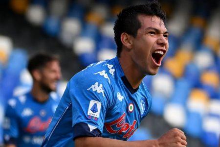 """El """"Chucky"""" Lozano firma otro doblete con el Nápoles en la liga italiana"""