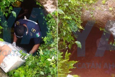 Tío borrachín cayó a una sascabera sin agua: estuvo seco el golpe