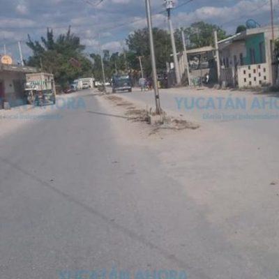 Conflicto en Celestún por riña entre vándalos intoxicados: un acuchillado y 9 detenidos