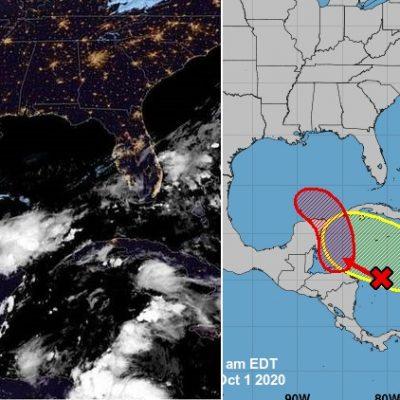 """Un """"frente frío"""" y dos ondas tropicales en camino a la Península de Yucatán"""