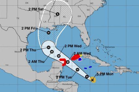 Se disipa la amenaza de Gamma, pero ahora viene Delta como huracán mayor