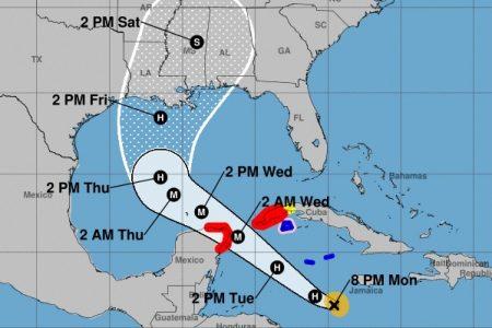 Delta ya es huracán: será intenso cuando se aproxime a la Península de Yucatán