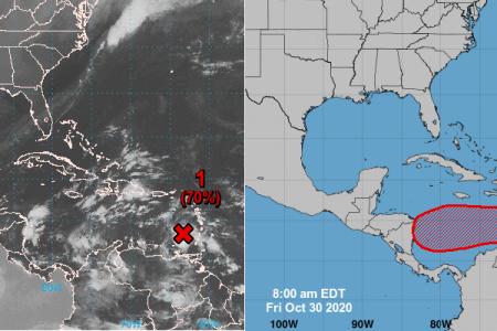 Próximo a formarse nuevo ciclón en el Caribe, pero lejos de Yucatán