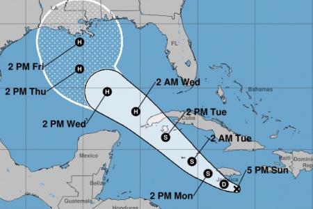 Surge nueva amenaza ciclónica en el Caribe: la depresión tropical 26