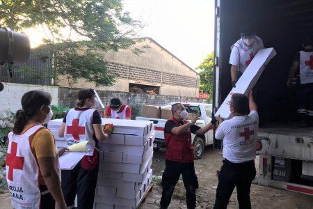 Llega ayuda de Cruz Roja para apoyar a familias afectadas por el huracán Delta