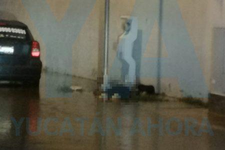 Tragedia en las encharcadas calles de Las Américas