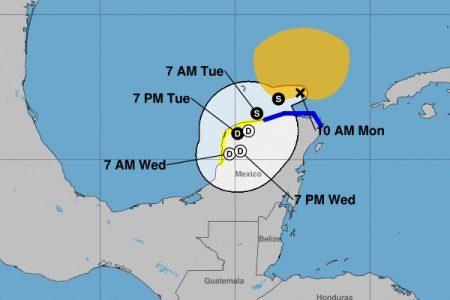 Gamma emprende el lento regreso a Yucatán: tocará tierra entre Progreso y Telchac
