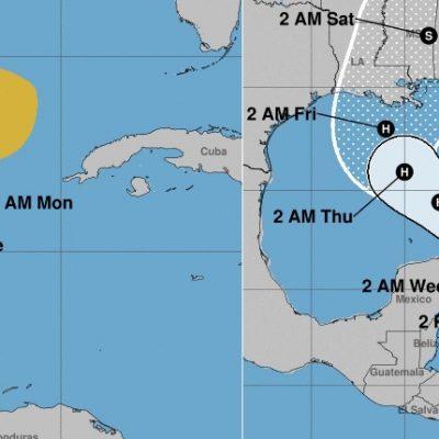 Gamma sigue estacionada y Delta se fortalece a tormenta en el Caribe