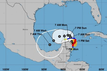 Gamma toca tierra en Tulum y avanza sobre Quintana Roo rumbo a Yucatán