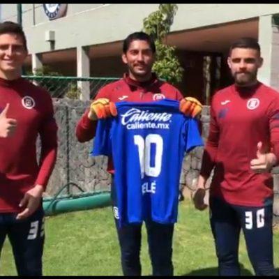 El yucateco Andrés Gudiño presume regalo de Luis Suárez y participa en la dinámica 'Pelegacy'